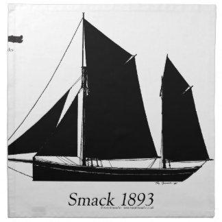 Segeln 1893 klatschen - tony fernandes stoffserviette