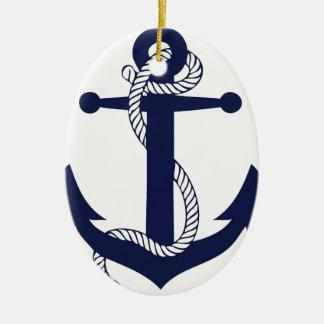Segeln-Anker-Marine Keramik Ornament