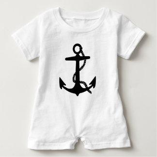 Segeln-Anker-Seeforscher-Piraten-Schiff Baby Strampler