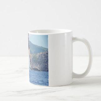 Segeln entlang die Küste von Sardinien Kaffeetasse