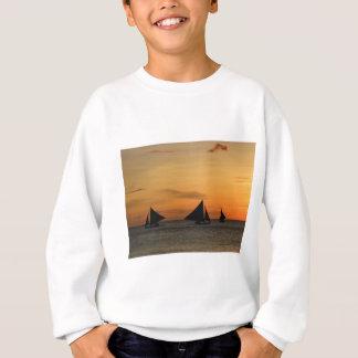 Segeln: Glauben Sie dem Wind Sweatshirt
