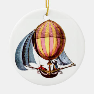 Segeln-/Hot-Luft-Ballon Keramik Ornament
