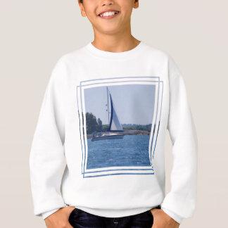 Segeln in das Blau Sweatshirt