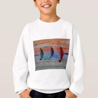 Segeln in die Bucht Sweatshirt