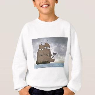 Segeln Korvette an einem herrlichen Tag Sweatshirt