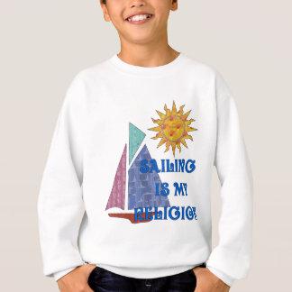 Segeln-Religion Sweatshirt