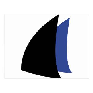 Segeln segelt Seemann Postkarte
