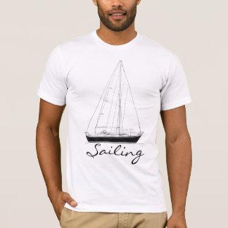 Segeln-Shirt mit Segel-Boot T-Shirt