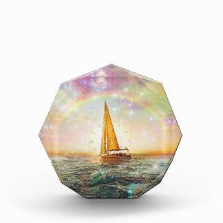 Segeln Sie das Meer des Zeit-achteckigen Preises Auszeichnung