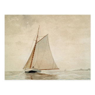 Segeln vor Gloucester durch Winslow Homer Postkarte