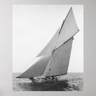 Segeln-Yacht Gloriana 1891