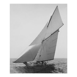 Segeln-Yacht Gloriana 1891 Posterdrucke