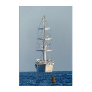 Segelnschiff Acryldruck