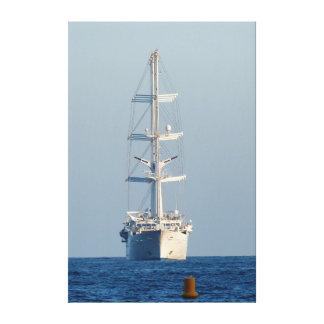 Segelnschiff Leinwanddruck