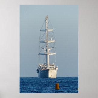 Segelnschiff Poster