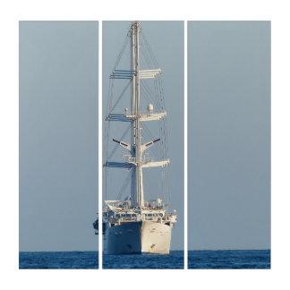 Segelnschiff Triptychon