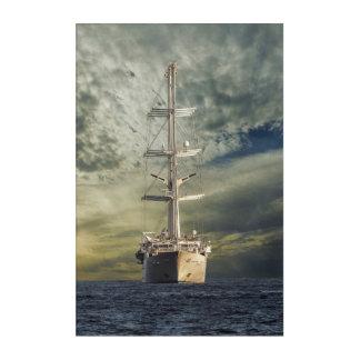 Segelnschlachtschiff Acryldruck