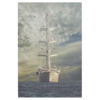 Segelnschlachtschiff Galerieleinwand