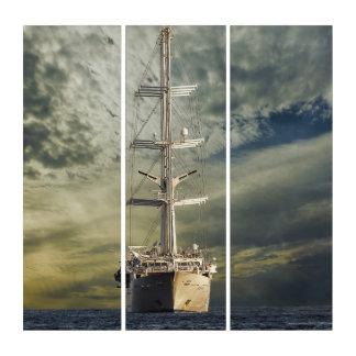 Segelnschlachtschiff Triptychon
