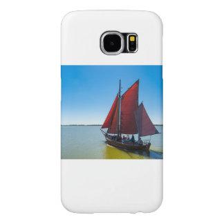 Segelschiff auf einem See