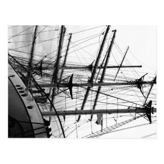 Segelschiff Postkarte
