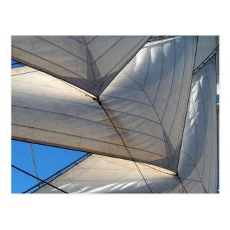 Segelschiff-Segel-Postkarte Postkarte