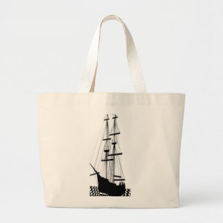 Segelschiff-Segelboote CricketDiane Schiffs-Kunst Jumbo Stoffbeutel