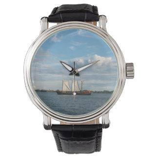 Segelschiff Uhr