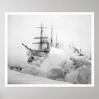 Segelschiffe Nome Alaska 1904 Posterdrucke