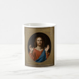 Segen Christus circa 1834 Kaffeetasse