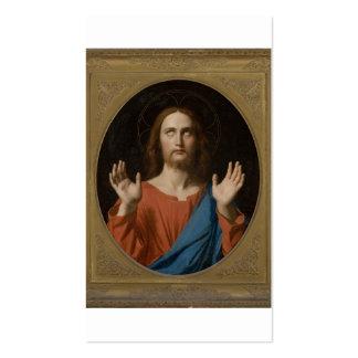 Segen Christus circa 1834 Visitenkarten