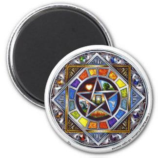 Segen des Element-runden Magneten Runder Magnet 5,1 Cm