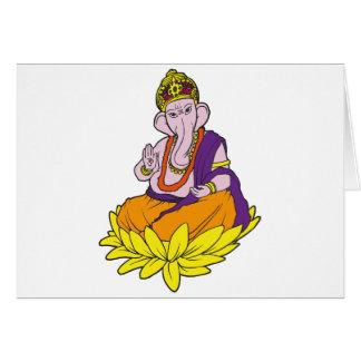 Segen Ganesha Karte