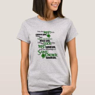 Segen von Heiligem Patrick T-Shirt