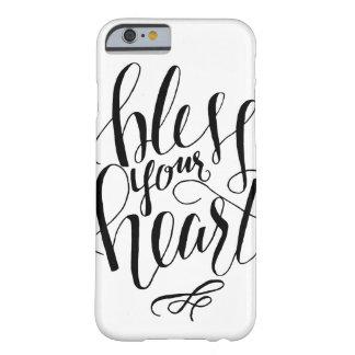 Segnen Sie Ihren Herz iPhone kaum dort Fall Barely There iPhone 6 Hülle