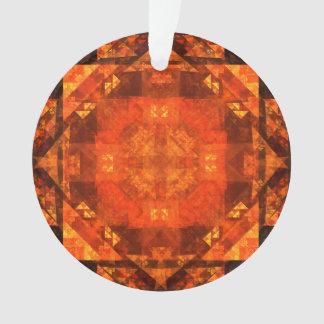 Segnung des abstrakten Kunst-Acryl-Kreises Ornament
