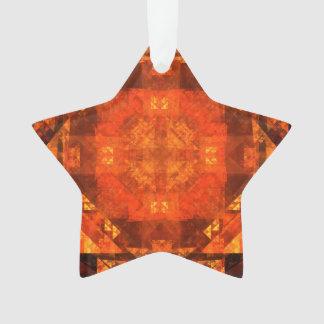 Segnung des abstrakten Kunst-Acryl-Sternes Ornament