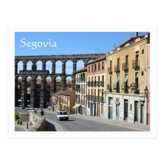 Segovia, Spanien Postkarte