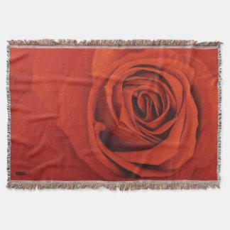 Sehen der roten Wurfs-Decke Decke