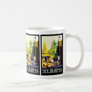 Sehen Sie Birma Kaffeetasse