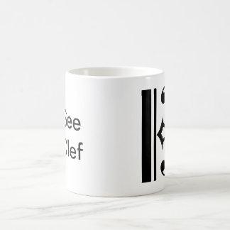 Sehen Sie Clef Kaffeetasse