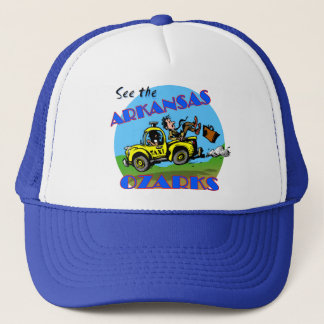 Sehen Sie das Arkansas Ozarks Truckerkappe