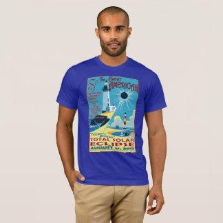 Sehen Sie das große amerikanische Eklipse-T-Shirt T-Shirt
