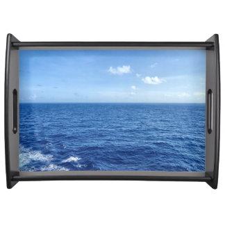 Sehen Sie das Meer Tablett
