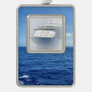 Sehen Sie das Seekundenspezifische Schiff Rahmen-Ornament Silber