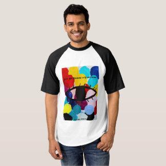 Sehen Sie die Schönheit in jeder Raglan-Baseball-T T-shirt