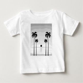 Sehen Sie die Seestrand-Wildnis-Natur der Baum an Baby T-shirt