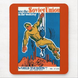 Sehen Sie die Sowjetunion in der Herstellung Mousepads