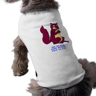Sehen Sie kein Übel, hören Sie kein Übel, datieren Hunde T Shirt