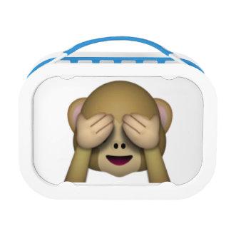 Sehen Sie keinen schlechten Affen - Emoji Brotdose